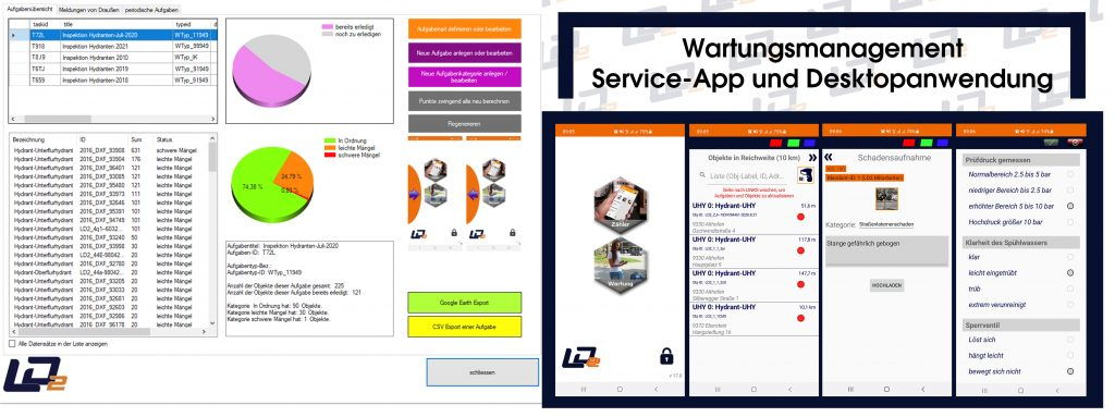 LD2 Wartungs- und Aufgabenmanagement