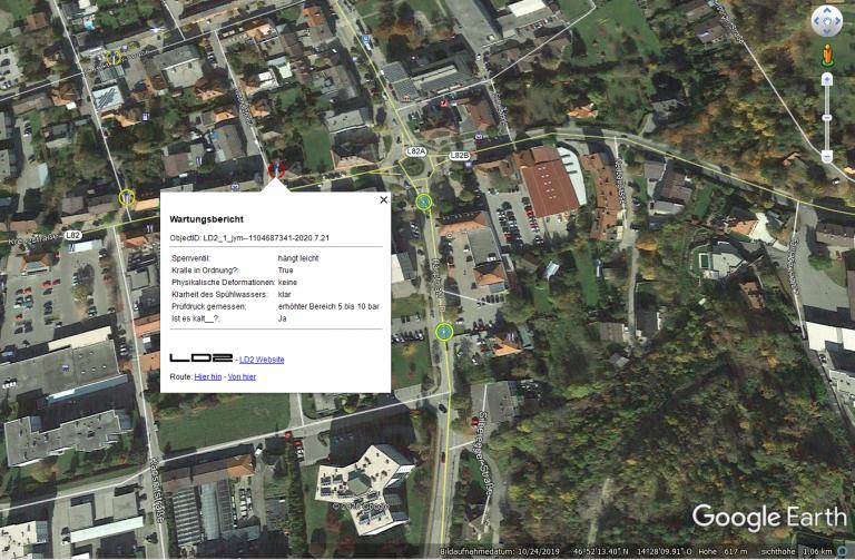 Google Earth Datei an das Handy weitergeben